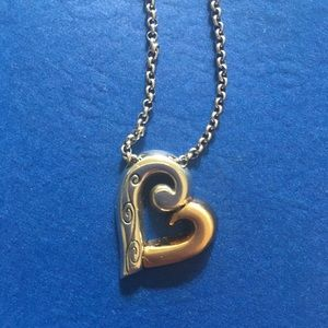 💕 Brighton Love Forever Two-Tone Necklace NWT